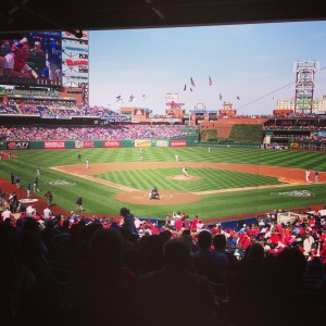 My standing room view today.  CBP is beautiful